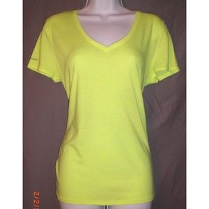 Bright Yellow Under Armour T-Shirt